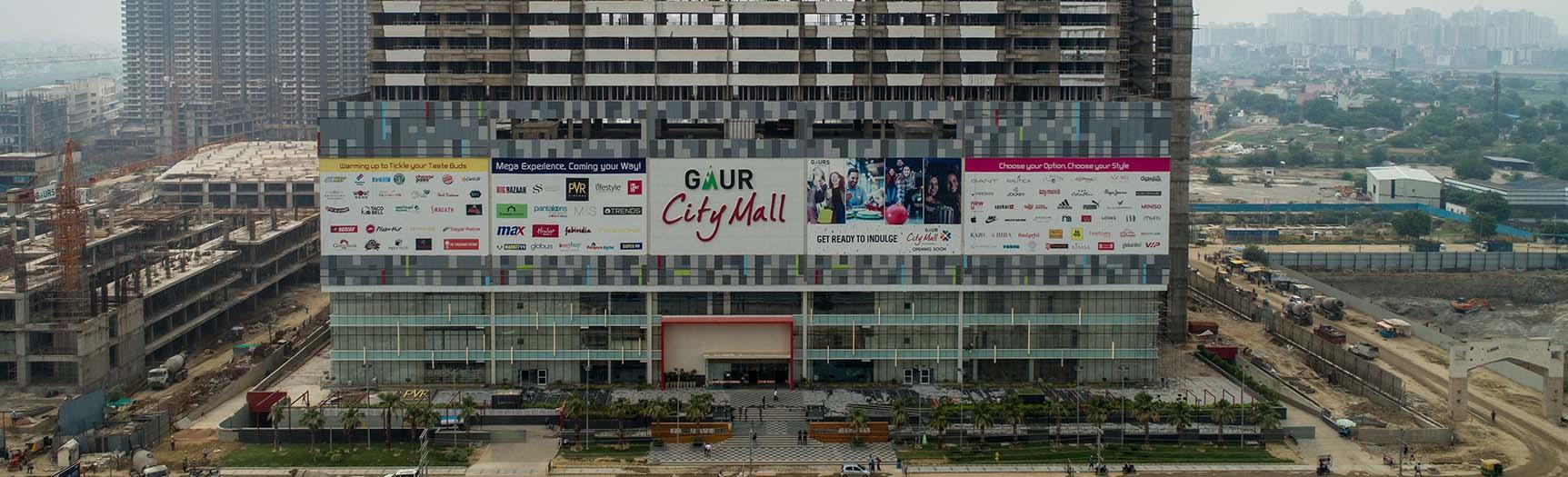 gaur city-mall